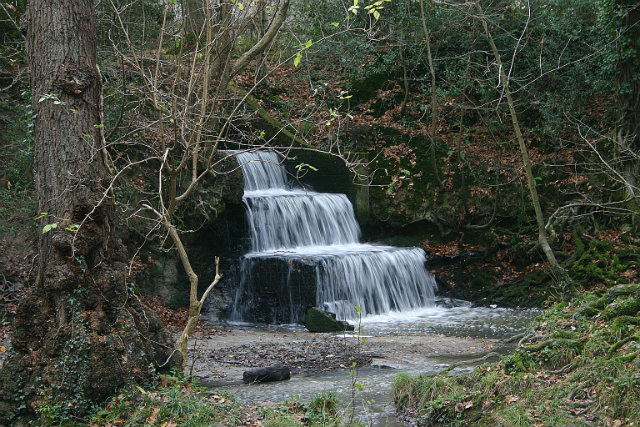 MILL POND WATERFALL